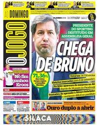 capa Jornal O Jogo de 24 junho 2018