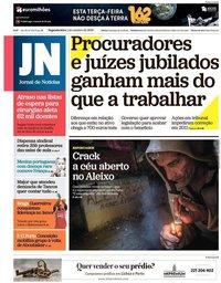 capa Jornal de Notícias de 1 outubro 2018