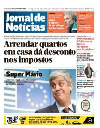 capa Jornal de Notícias de 5 dezembro 2017