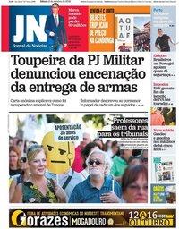 capa Jornal de Notícias de 6 outubro 2018