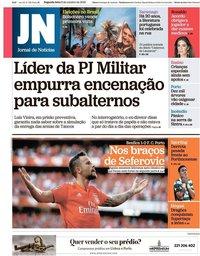 capa Jornal de Notícias de 8 outubro 2018