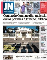 capa Jornal de Notícias de 17 outubro 2018