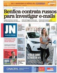 capa Jornal de Notícias de 18 outubro 2018