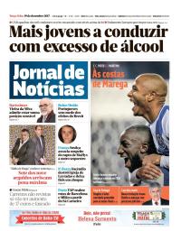 capa Jornal de Notícias de 19 dezembro 2017