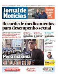 capa Jornal de Notícias de 21 dezembro 2017
