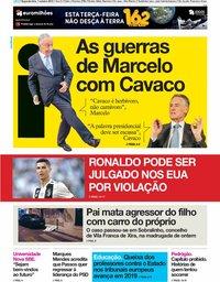 capa Jornal i de 1 outubro 2018