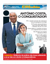 capa Jornal i de 2 outubro 2017