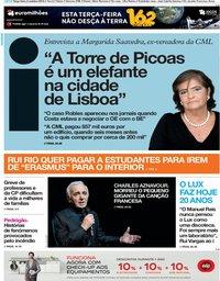 capa Jornal i de 2 outubro 2018