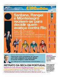 capa Jornal i de 5 outubro 2017