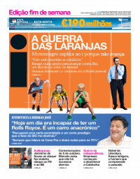capa Jornal i de 6 outubro 2017