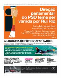 capa Jornal i de 10 outubro 2017