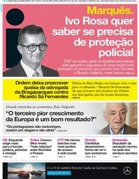 capa Jornal i de 10 outubro 2018