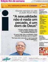 capa Jornal i de 12 outubro 2018