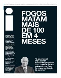 capa Jornal i de 17 outubro 2017