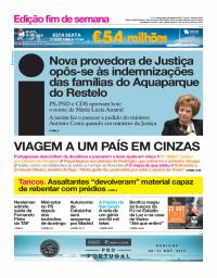 capa Jornal i de 20 outubro 2017