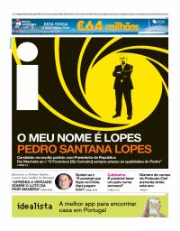 capa Jornal i de 23 outubro 2017