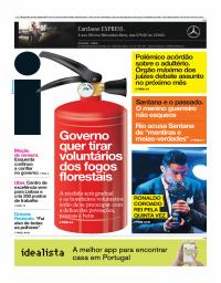 capa Jornal i de 24 outubro 2017