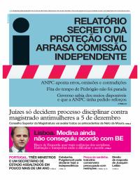 capa Jornal i de 26 outubro 2017