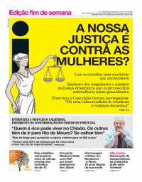 capa Jornal i de 27 outubro 2017