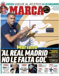 capa Jornal Marca de 4 janeiro 2018