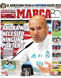 capa Jornal Marca de 7 janeiro 2018