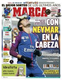 capa Jornal Marca de 12 janeiro 2018