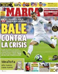 capa Jornal Marca de 13 janeiro 2018