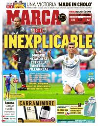capa Jornal Marca de 14 janeiro 2018