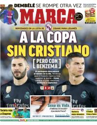capa Jornal Marca de 16 janeiro 2018