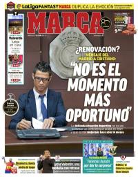 capa Jornal Marca de 17 janeiro 2018