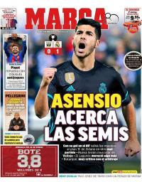 capa Jornal Marca de 19 janeiro 2018
