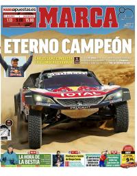 capa Jornal Marca de 21 janeiro 2018