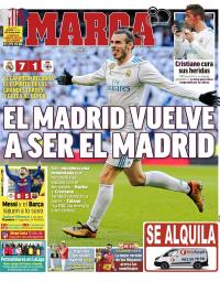 capa Jornal Marca de 22 janeiro 2018