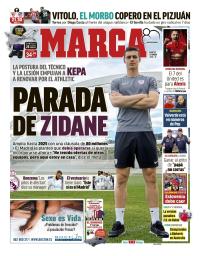 capa Jornal Marca de 23 janeiro 2018