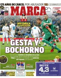 capa Jornal Marca de 25 janeiro 2018