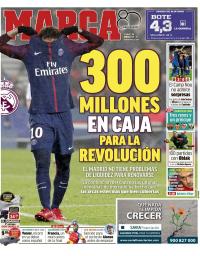 capa Jornal Marca de 26 janeiro 2018