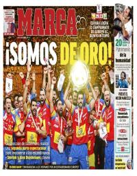 capa Jornal Marca de 29 janeiro 2018