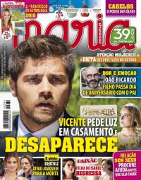 capa Maria de 8 novembro 2017