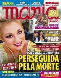 capa Maria de 30 agosto 2018