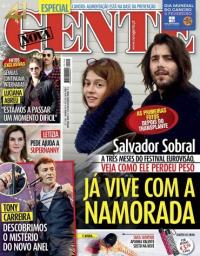 capa Nova Gente de 1 fevereiro 2018
