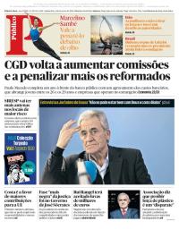 capa Público de 1 fevereiro 2018