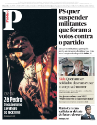 capa Público de 1 dezembro 2017