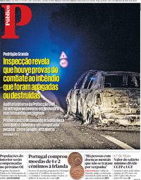 capa Público de 2 maio 2018