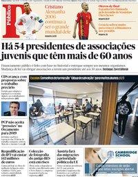 capa Público de 2 julho 2018