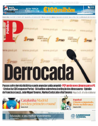 capa Público de 2 outubro 2017