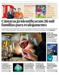 capa Público de 2 dezembro 2017