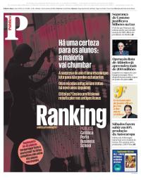 capa Público de 3 fevereiro 2018