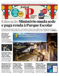 capa Público de 3 março 2018