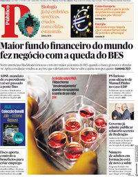 capa Público de 3 maio 2018