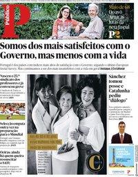 capa Público de 3 junho 2018